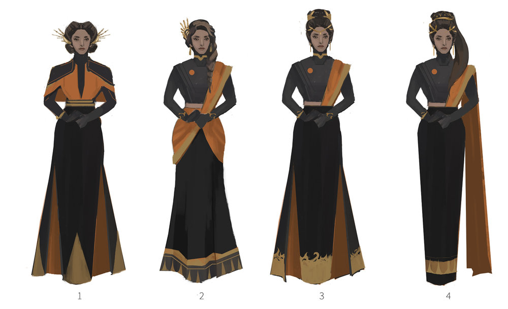Lady Alexandria costume iteration round 2.