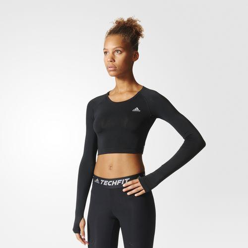 Adidas Tech Fit Crop Top, $45