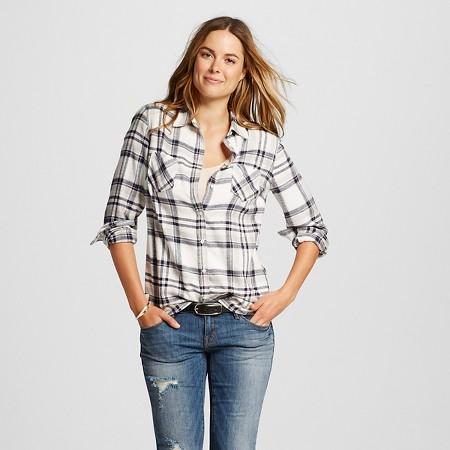 Merona Plaid Favorite Shirt, $22.99