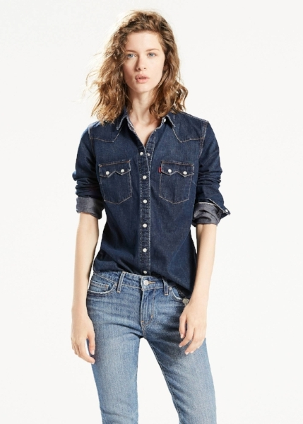 <h2>Levi's Selvedge Denim Shirt</h2>