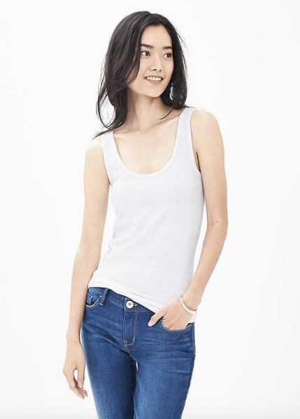<h2>Banana Republic Essential Tank</h2>