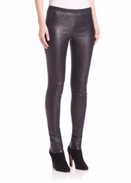 <h2>Helmut Lang Stretch Leather Leggings</h2>