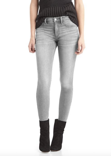 <h2>Gap Grey High Stretch 1969 Legging Jeans</h2>