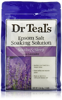 Dr. Teal's Epsom Salt Soaking Solution, $10.46