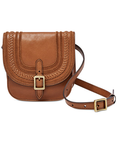 <h2>Fossil Festival Leather Fanny Pack, $108</h2>