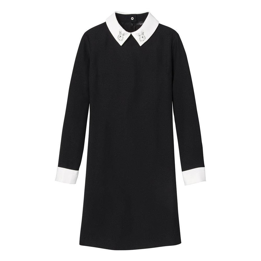 Black Collared Dress, $35