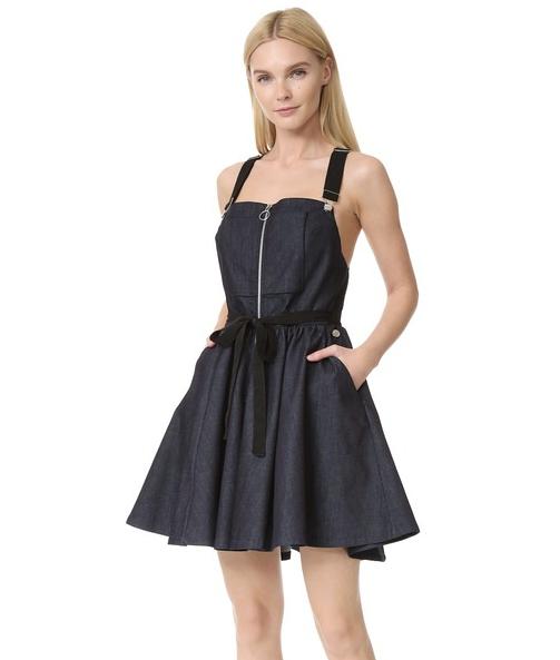 Adam Selman Overall Dress, $525
