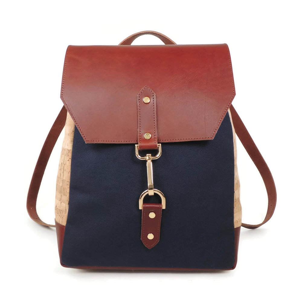 "<h2><a href=""http://www.spicerbags.com/cork-leather-backpack-in-cork-dash/"">Spicer Cork and Leather Backpack, $204.25</a></h2>"