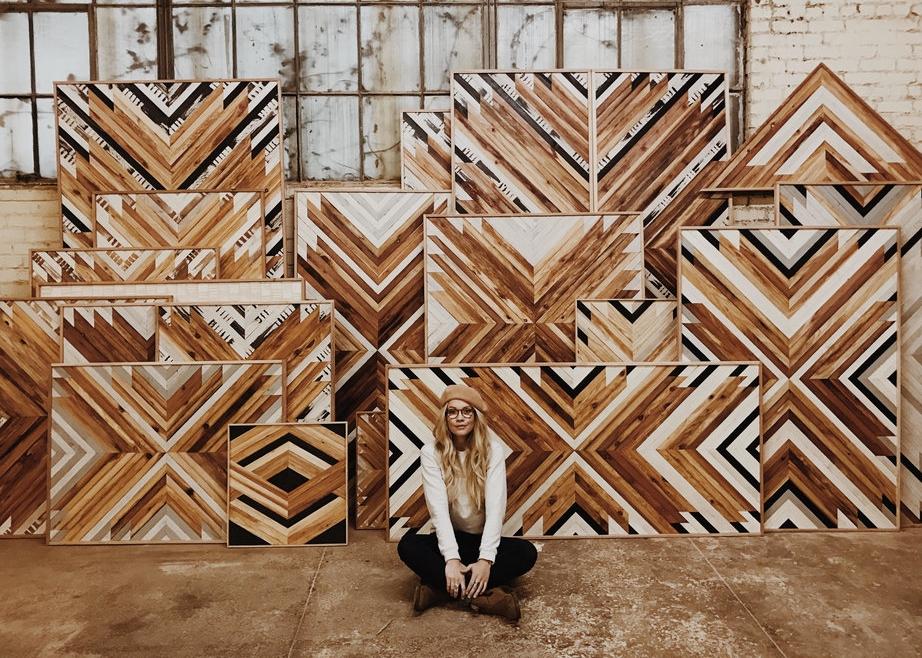 <h2>Aleksandra Zee, Woodwork Artist</h2>