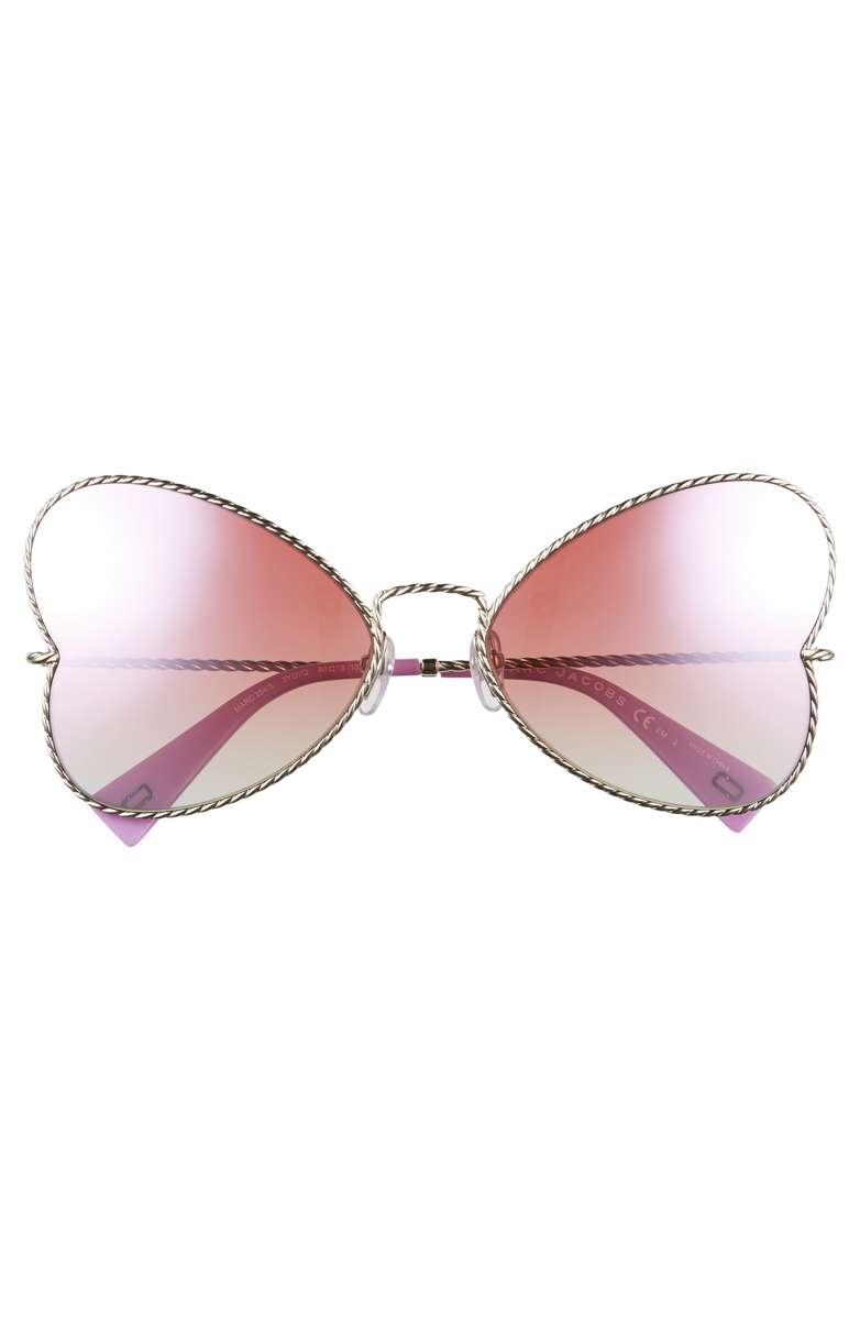 Marc Jacobs Heart Sunnies, $195