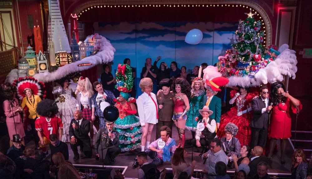 Photo: Beach Blanket Babylon