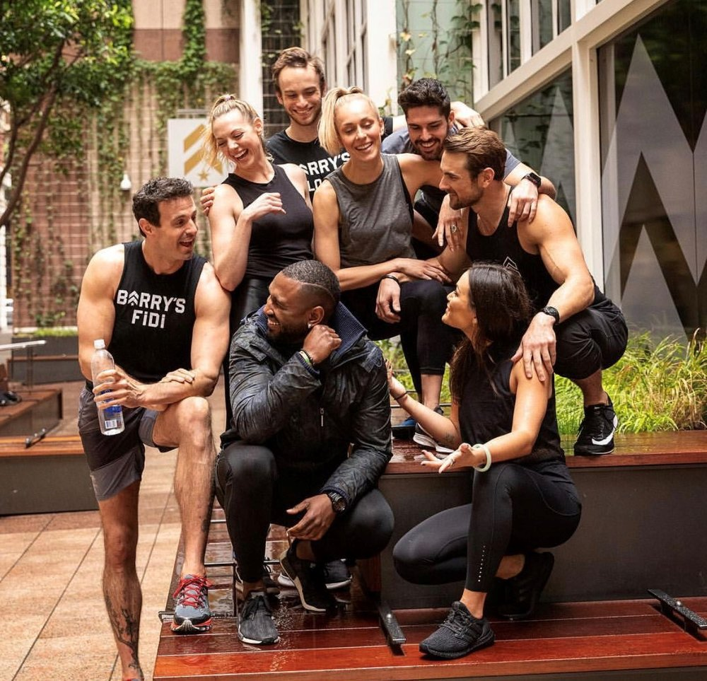 Photo:  Shannon Righetti for Barry's Bootcamp