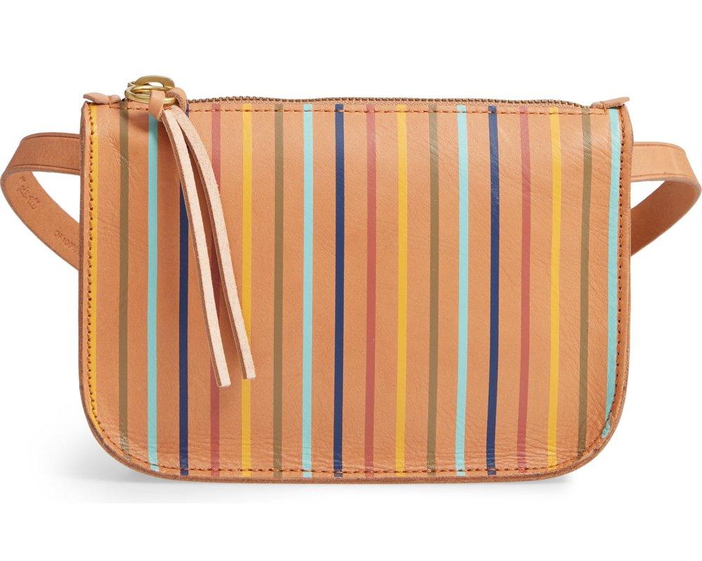 Madewell Rainbow Stripe Belt Bag, $68