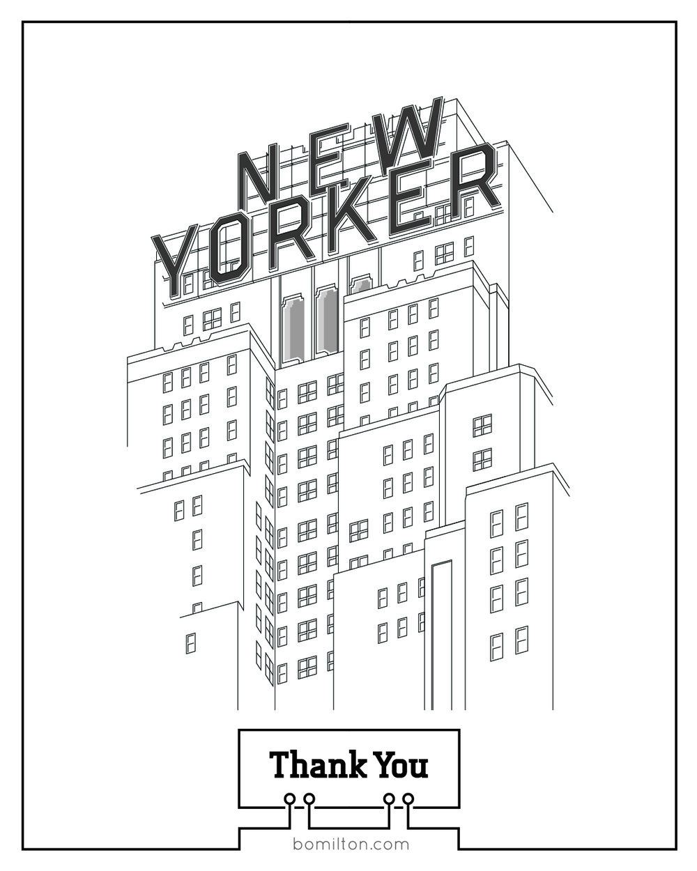 Thank You Card - Front Side