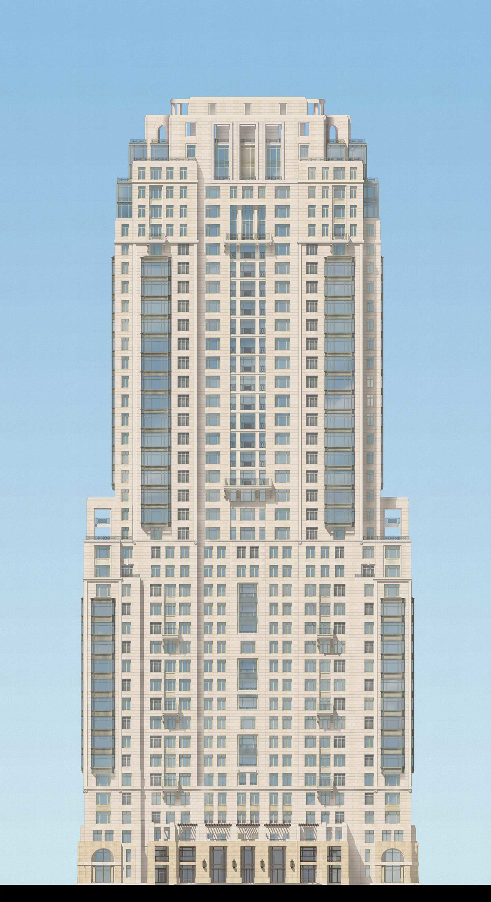 Phase 6 Tower North Elevation