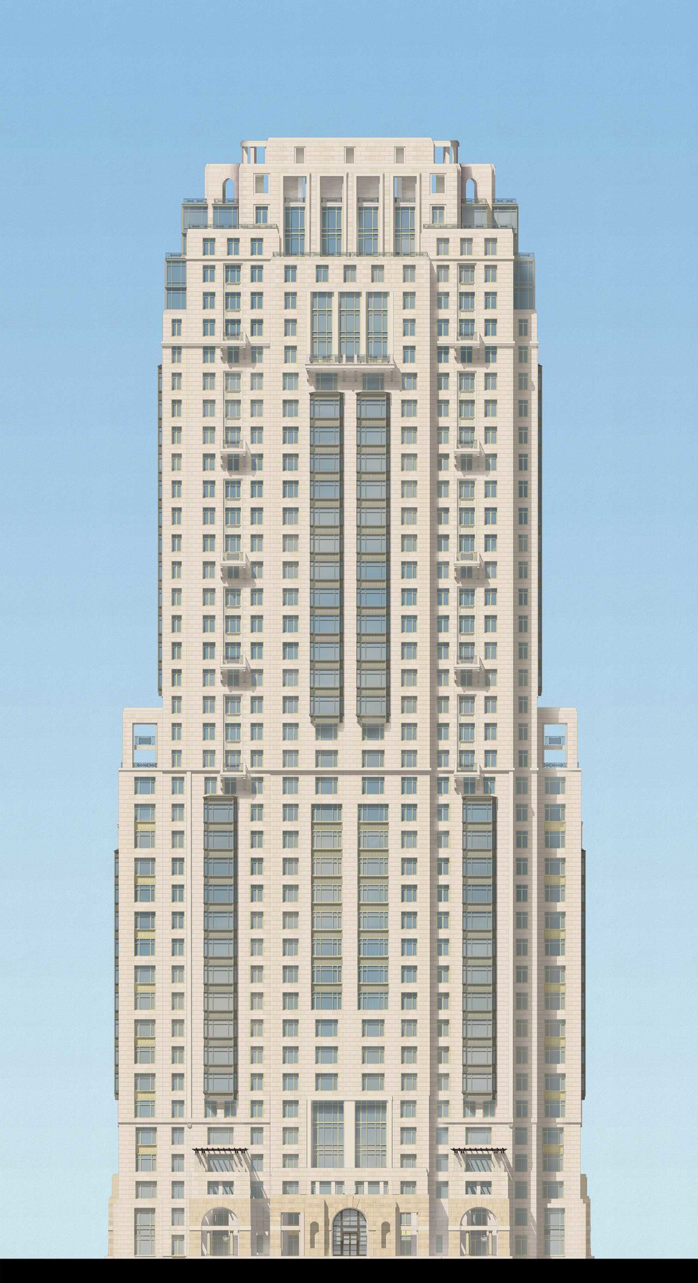 Phase 6 Tower South Elevation