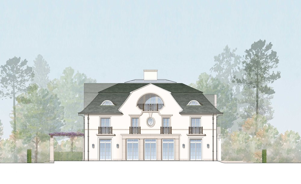 Rendered South Elevation - Courtesy of RAMSA