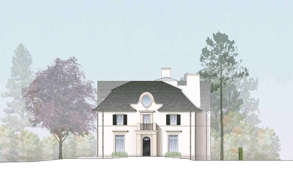 Rendered East Elevation - Courtesy of RAMSA