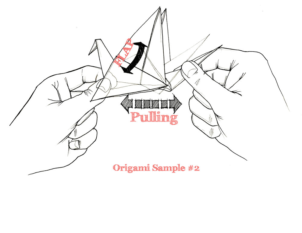 Origami Study: Testing Sample No. 02