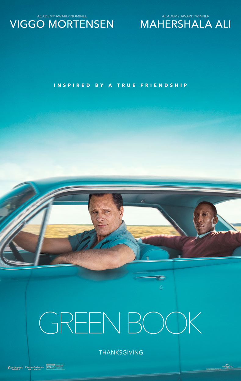 Green Book drove away with two awards.