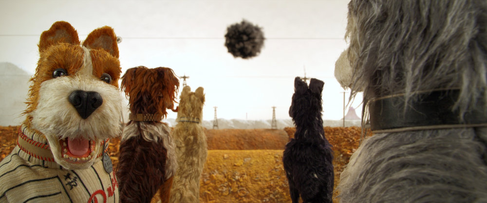 Scene from Isle of Dogs. Courtesy of Fox Searchlight Pictures.