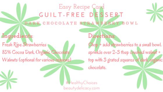 Guilt-free Dessert (1)