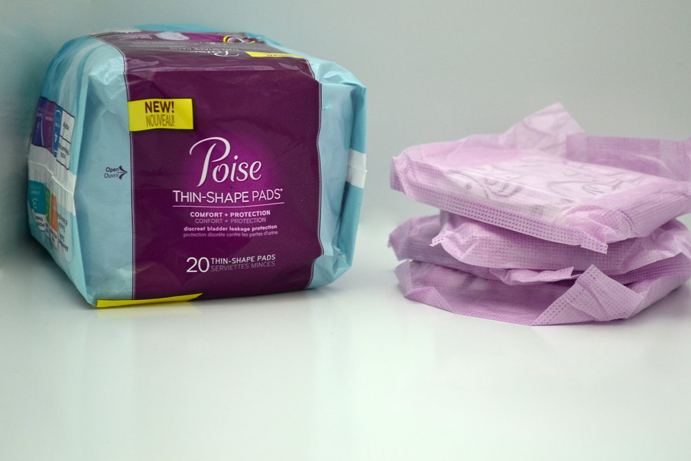 new poise thin shape pads