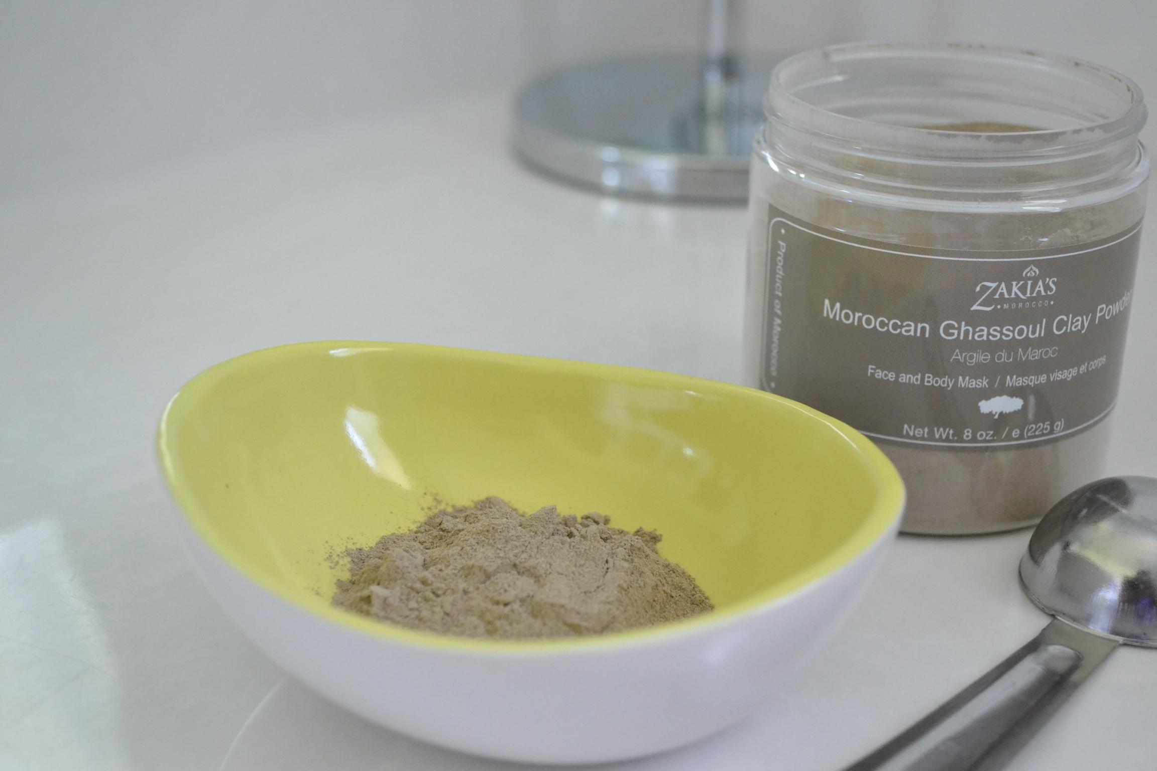 zakia's clay powder