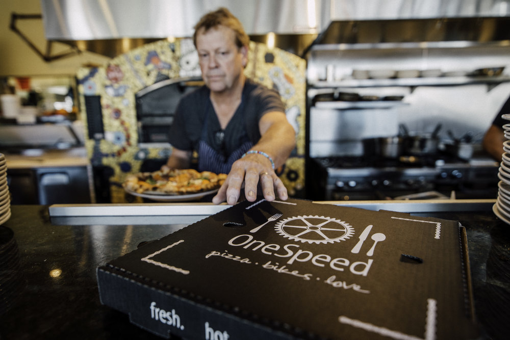 Caption: (Image above) My first assignment shooting for Sac Mag as a freelance photographer. | One Speed Pizza