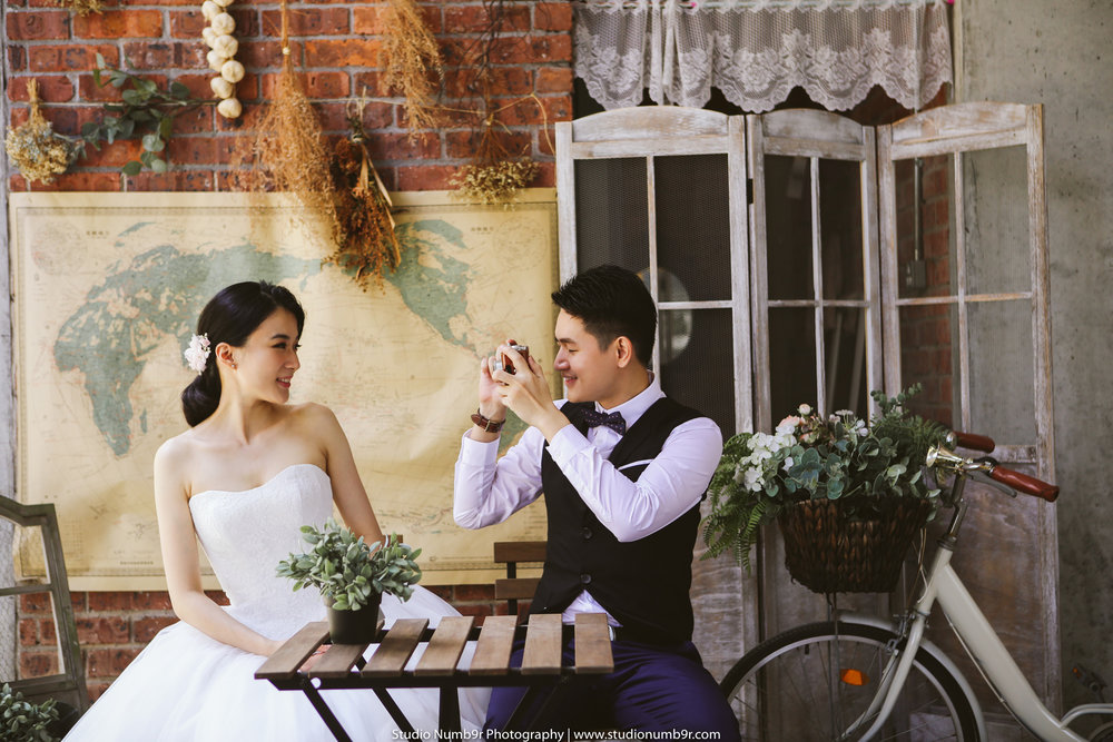 2017 Pre Wedding Studio Numb9r Forest Indoor 0357T