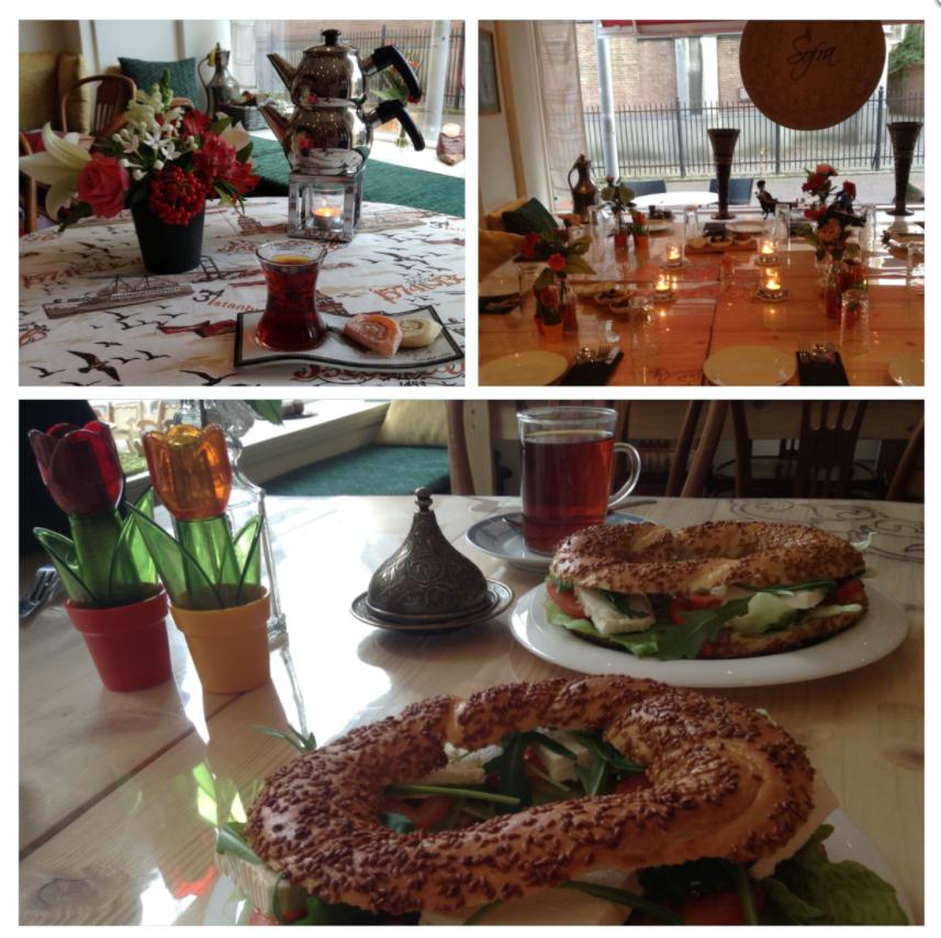 """Sofra  De droom die uitkwam van eigenaresse Pakize Cilingir. """" Ik heb een passie voor alles wat met eten te maken heeft, en dan met name het eten van mijn geboorte streek Bayburt in Turkije"""". Een bezoek aan Sofra is een echte belevenis voor de zintuigen. Zien, ruiken en proeven om te ervaren dat alles wat wij bereiden ook met liefde en passie voor onze authentieke Turkse gerechten wordt gemaakt.   www.sofra-arnhem.nl"""