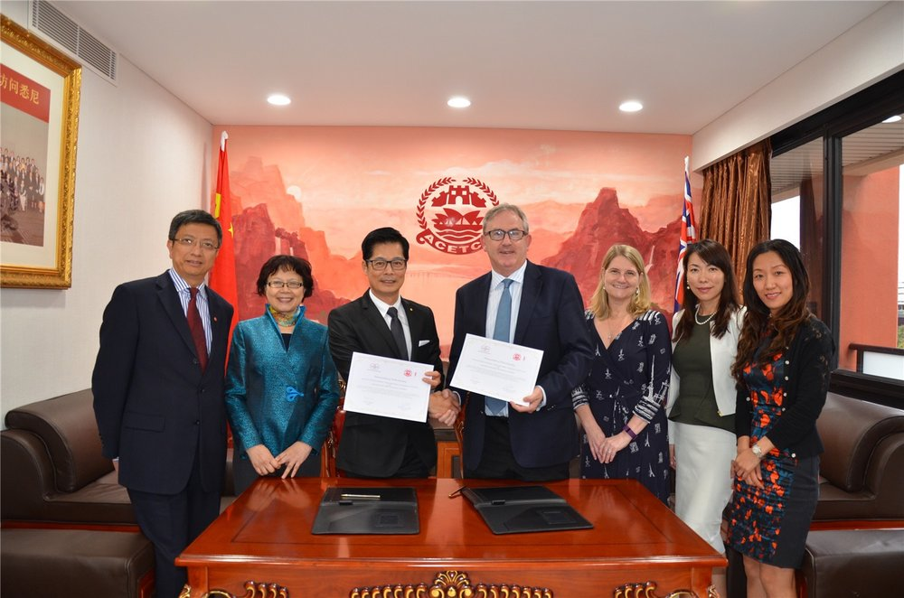 Signing Ceremony, another successful partnership with Chinese Company