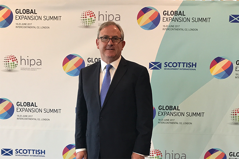David Thomas attended the Global Expansion Summit as the expert speaker on China