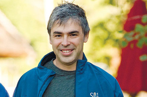 Larry Page - Co-Founder of Google