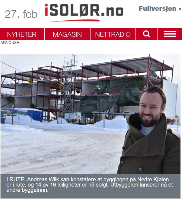 Bygger dobbelt så mange leiligheter på Nedre Kjølen -
