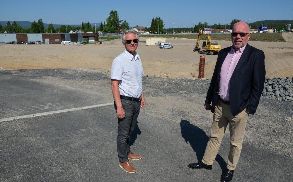Europris flytter over elva, og til en helt ny handelspark -