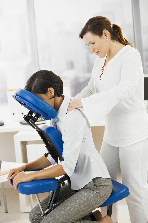chair massage at work