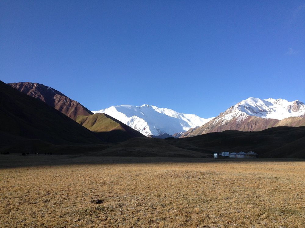 Jurt Camp in Sary Mogul   (just 1 hour drive after the Kyrgyz border!)