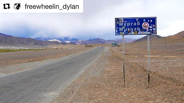 📷@freewheelin_dylan #visitpamirs #tajikistan #murghab #roofoftheworld #TravelPhotography
