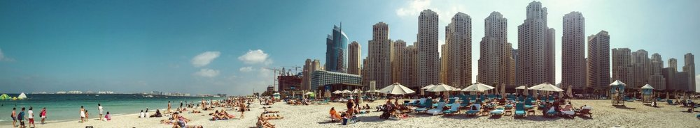 Dubai Beach - Marina de Dubai