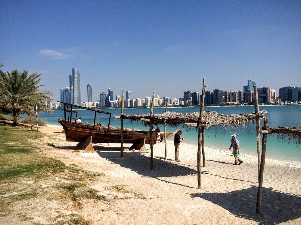 Abu Dhabi desde Heritage Village