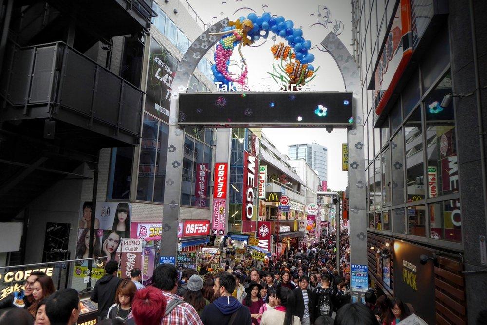 Calle Takeshita-dori