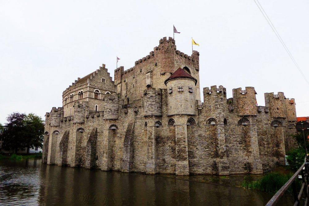Gravensteen,  el Castillo de Gante