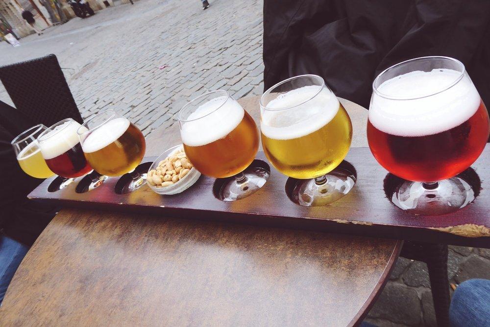 Degustación cervezas bruselas