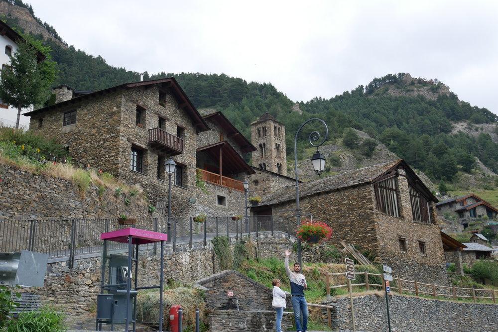 Pueblo de Pal en la Parroquia de la Massana