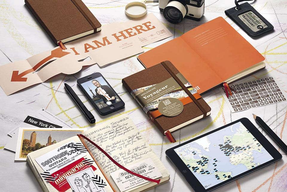 Cuaderno de viajes Moleskine