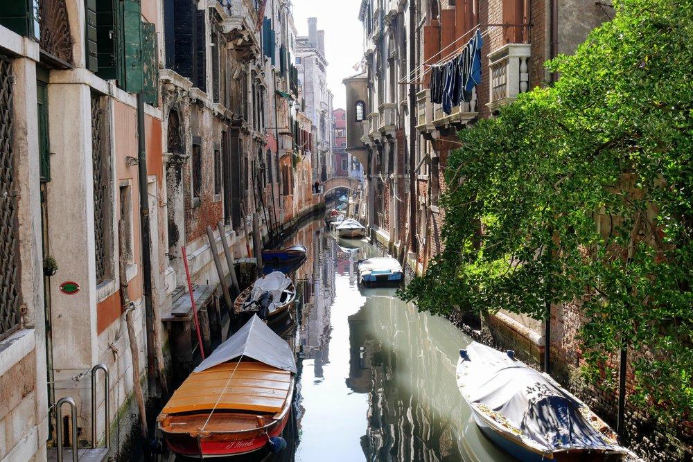Canales de Venecia
