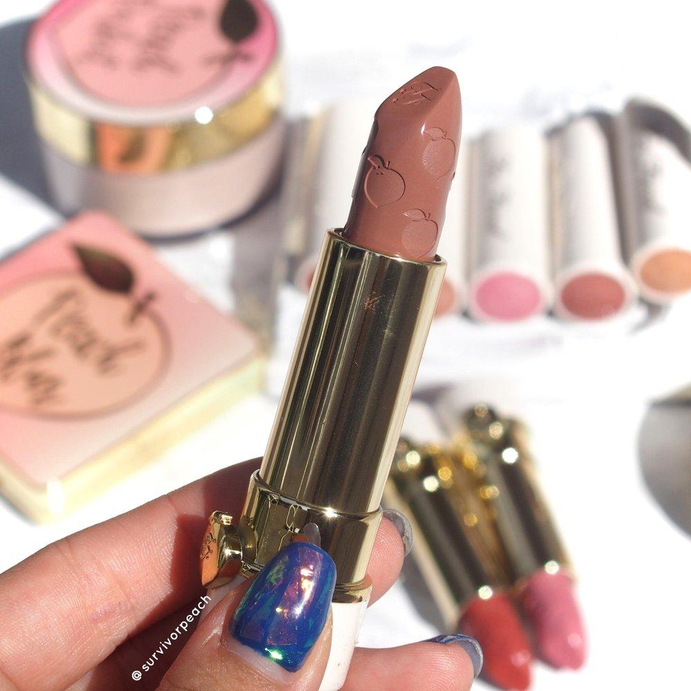 Toofaced Sweet Peach Lipstick - Sex on the Peach