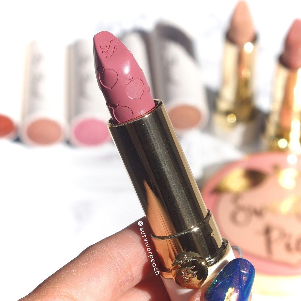 Toofaced Sweet Peach Lipstick - Male Me Blush