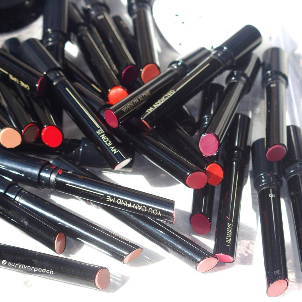 Hourglass Confession Lipsticks